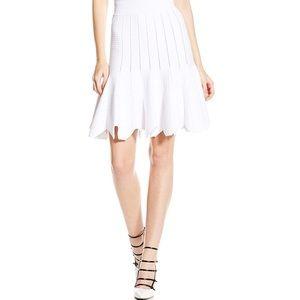 NWT Jonathan Simkhai Pointelle Scalloped Skirt